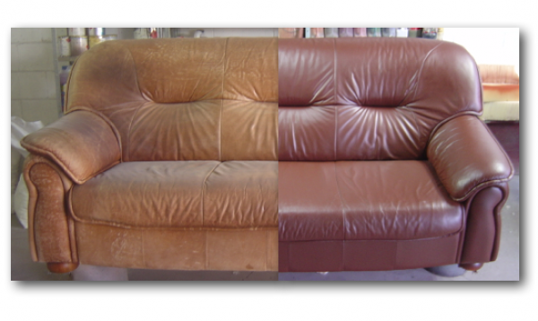 Leather Cleaning and repair service