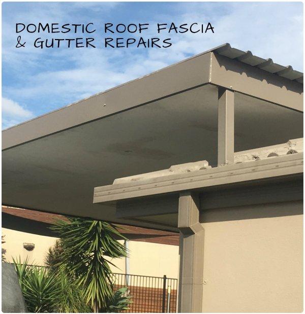 Domestic Roof Fascia & Gutter Repairs