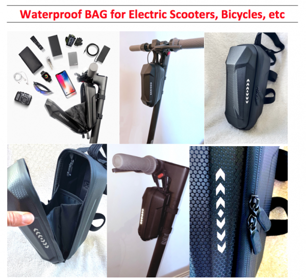 E-Scooter Bags - waterproof
